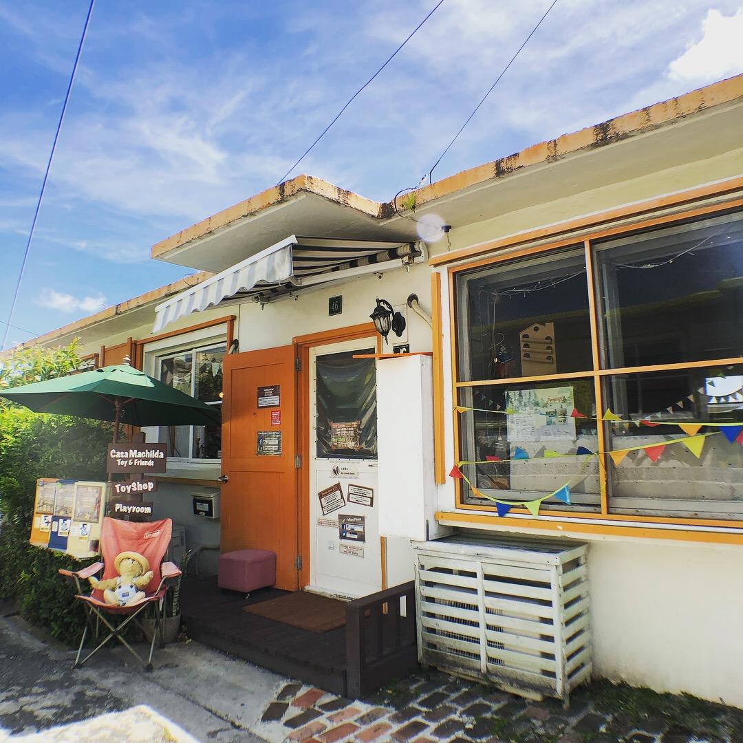 港川外人住宅街のカーサマチルダ